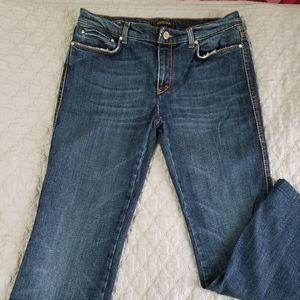 Roberto Cavalli Boot Cut Jeans Dark Wash